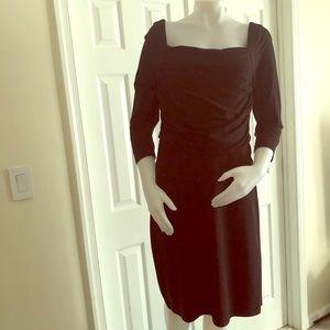 Ann Taylor Black Dress 12
